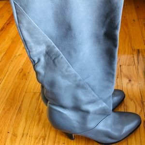 Urban Outfitters Grey Suede/Leather Boots